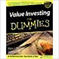 Value Investing For Dummies by Sander, Peter J., Haley, Janet [For Dummies, 2002] (Paperback) [Paperback]