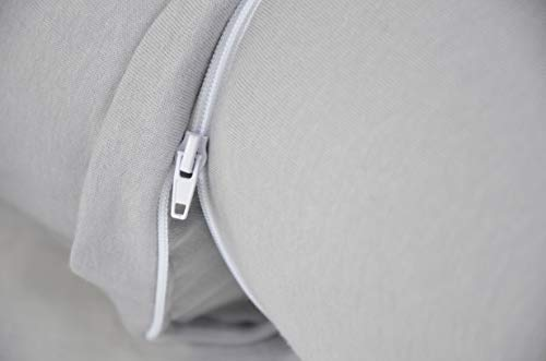 Kidiway Canada Kidicomfort Blended Organic Cotton 3 in 1 Body Pillow Jersey Grey