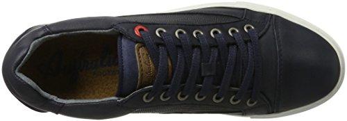 AUSTRALIAN Gibson Leather, Scarpe Basse Uomo Blu (Navy)