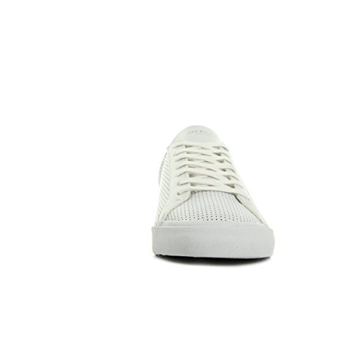 Jim Rickey Chop Punched Out Leather JRS17062A, Deportivas Blanc