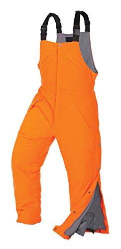 Onyx-Arctic Shield-X-System Unisex Performance fit bib, Blaze Orange, (Arctic Shield Clothing)
