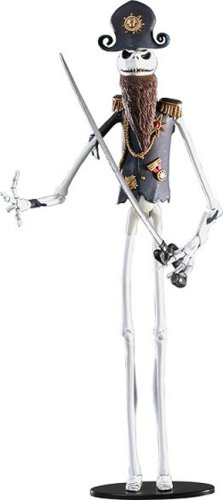 NECA Tim Burtons The Nightmare Before Christmas Exclusive Action Figure Pirate (Pirate Jack Skellington)