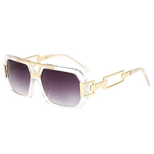 fbc431dc5d243 Lunettes Zhhlinyuan Uv Unisexe Ombre Soleil amp  Polarisé Prime Des  Sunglasses Non Womens Transparent Conception Voyageur Mens Protection ...
