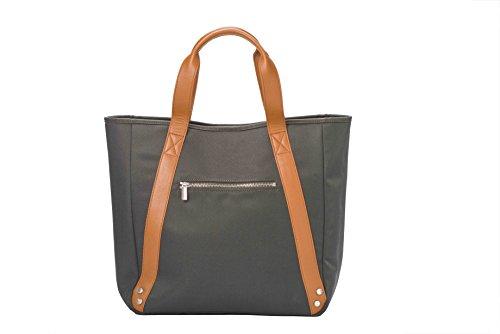 shopper Mujer Bag Bolso Melkco Tela De Azul Para Blue 6I6P08q