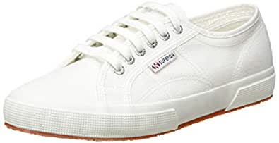 Superga Men's 2750 Cotu Classic Shoes, White (White), 5 US