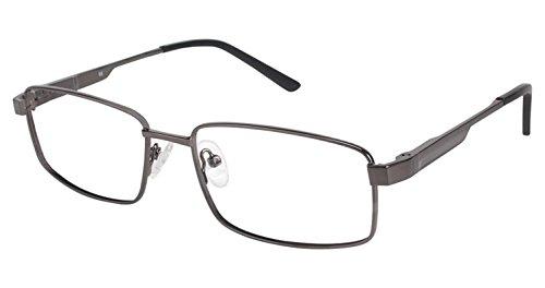 LAmy C By 617 Eyeglass Frames - Frame GUNMETAL/BLACK, Size -