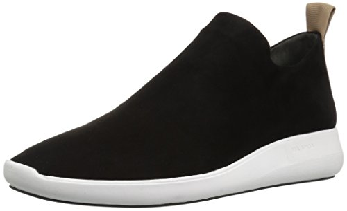 ON Suede Marlow Spiga Black Women's Sneaker Via Slip IP6UqPw