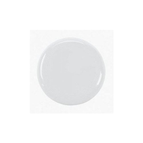 WHITE FLYING DISC DOZEN BULK