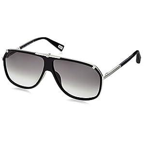 Marc Jacobs 305/S Sunglasses (0010) Palladium w/ Gray Gradient Aqua Lenses