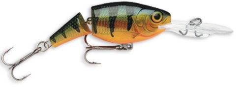 Rapala Jointed Shad Rap 07 Fishing lure, 2.75-Inch, Perch