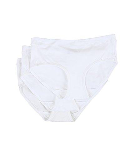 Jockey Women's Underwear Modern Cotton Stretch Hipster - 3 Pack, White, 7