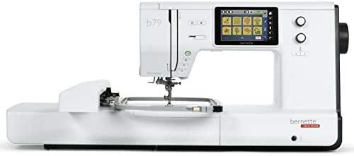 Bernette B79 - Máquina de coser y bordar, incluye 2 módulos de software de bordado para obtener resultados óptimos de costura y bordado y gran comodidad: Amazon.es: Hogar