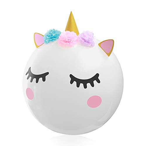 Unicorn Balloons for Unicorn Party Supplies & Decoration, 36 Inches Super Large DIY Balloon for Childrens Birthday Party Baby Shower Wedding, Cute Balloon for Unicorn Theme Party 1 Pack