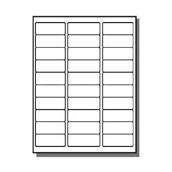 Amazon.com : 8000 Address Labels - 100 Sheets of Compatible with ...