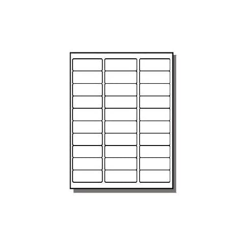 Address Labels 1 X 200 Sheets 30 UP Fit Sizes 5260 5520 5810 ...
