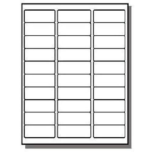 Labels 30 Per Sheet Amazon