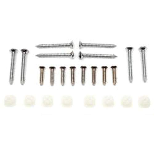 Eckler's Premier Quality Products 55-193372 El Camino Headlight Bezel Mounting Hardware Kit,
