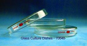 Glass Culture Dish 60x15 mm, 12/PK