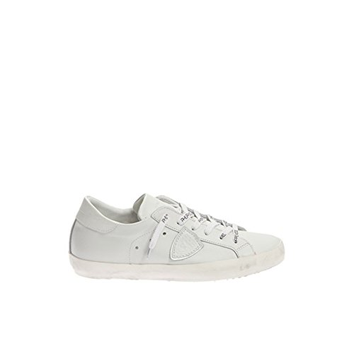 PHILIPPE MODEL WOMEN'S CLLDVE51 WHITE LEATHER SNEAKERS
