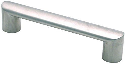TOPEX HARDWARE FH029128 TOPEX HARDWARE FH029128 Oval Tube, 128mm, Stainless Steel, 128mm, Stainless Steel