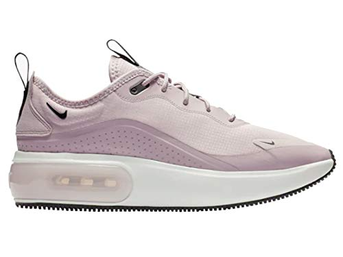 Nike Women's Air Max Dia Plum Chalk/Black/Summit White Mesh Cross-Trainers Shoes 9.5 M US