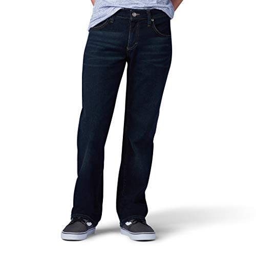 (LEE Big Boy Proof Regular Fit Straight Leg Jean, Slider, 14 Slim)