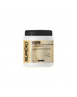 NUMERO Crema nutriente al burro di karité 1000 ml Brelil Professional