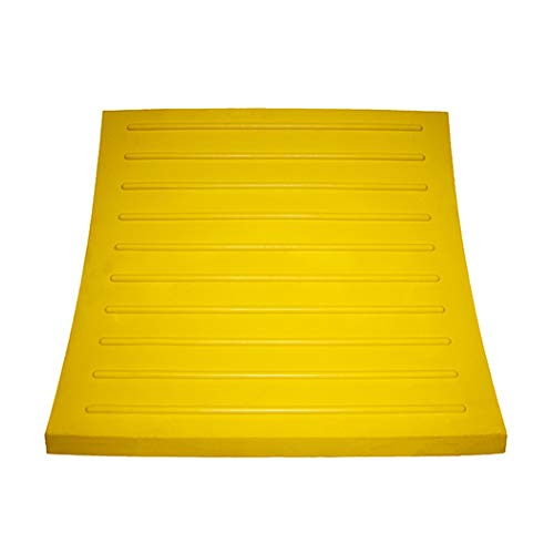 Esco 12593 Safety Yellow Pro Series Wheel Chock for Dump Trucks, Loaders, Construction Equipment and Tractors by Esco (Image #2)
