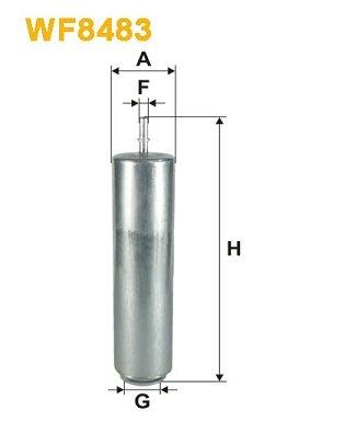 WIX FILTERS WIXFILTERS WF8483 Fuel Injectors: