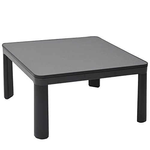 YAMAZEN ESK-751(B) Casual Kotatsu Japanese Heated Table 75x75 cm Black