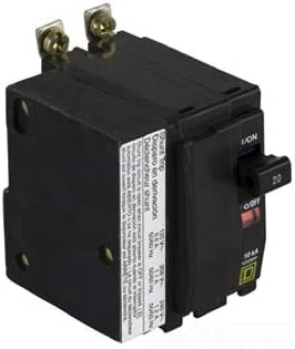 30 Amp qob2301021 with shunt trip Square D 2 pole Bolt-On Circuit Breaker