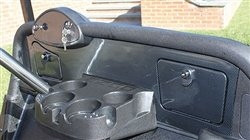 EZGO RXV Golf Cart Custom Dash - Carbon Fiber - Ez Go Custom Golf Carts