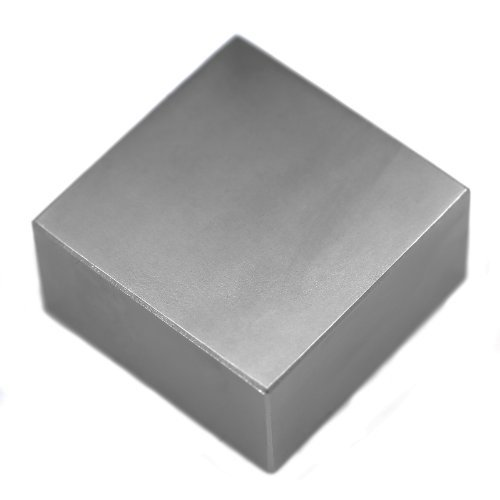 "Applied Magnets 2"" x 2"" x 1"" Grade N52 Neodymium Block Magnet"