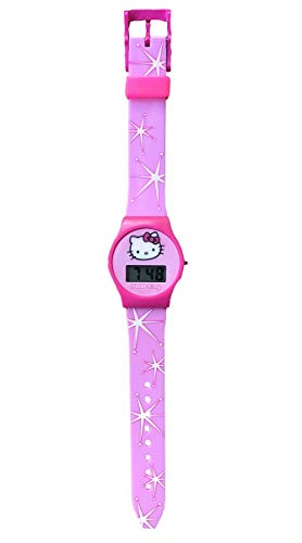 - Hello Kitty Pink Digital Watch with Silicon Strap