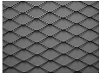 Expanded Sheet, Rsd, Carbon, 4 x4 ft, 3/4-#9