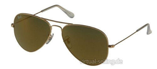 Ray Ban Rb 3025 W3274 Gold Rb3025 Aviator - Ban Ray Sunglasses Oakley