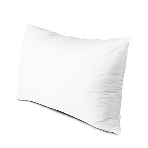 Edow Luxury Soft Pillows for Sleeping, Fluffy Down Alternative Polyester Fiber Filled Pillow, Home&Hotel-Collection, Machine Washable, Neck Pain&Headache Relief - Queen