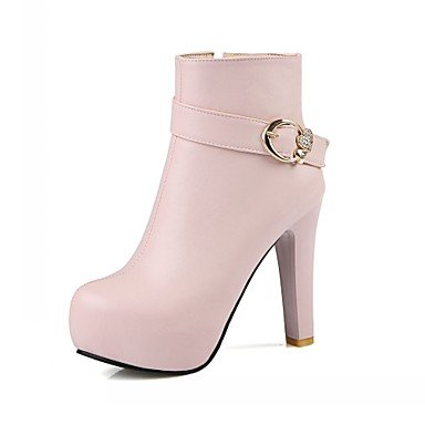 RTRY Women'S Boots Spring Fall Winter Platform Comfort Novelty Patent Leather Leatherette Wedding Office &Amp; Career Dress Casual Party &Amp; Evening US4.5 / EU36 / UK3.5 Big Kids UEkKB