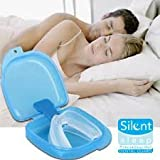 Silent Sleep Teeth Mouth Guard - 2 PACK - Stop Teeth Grinding and Clenching - Best Teeth Grinding Solution on the Market 100% Satisfaction Guaranteed!