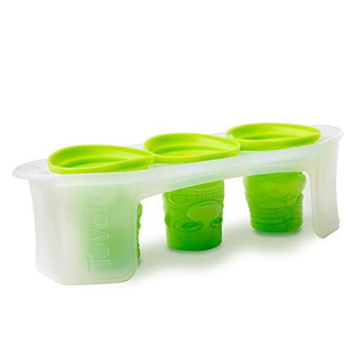 Tovolo Tiki Ice Molds, Silicone, Easily Stackable, Dishwasher Safe, - Set of 3