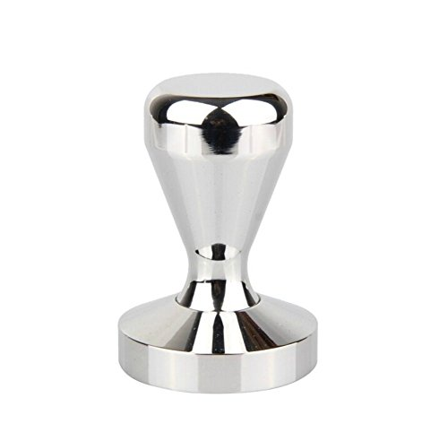 Wowlife 51mm/57.5mm Stainless Steel Coffee Tamper Pretty Sturdy Coffee Bean Tamper with Press Flat Base