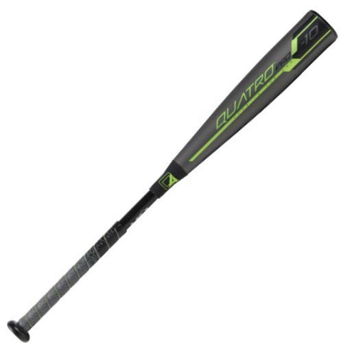 Rawlings 2019 Quatro Pro USA Youth Baseball Bat (-10), 30 inch / 20 oz