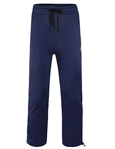 BALEAF Youth Boy's Athletic Fleece Pants Zip Pocketed Warm Sweatpants