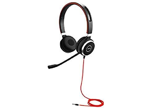 Jabra 40 Stereo Wired Headset - Black