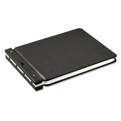 Raven Vinyl-Guarded Post Binder, 11 x 17, 8-1/4 Center, Black, Sold as 1 Each