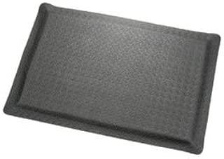 "product image for Apache Mills Diamond Plate Ergonomic Mat, 36""x144"", Black"