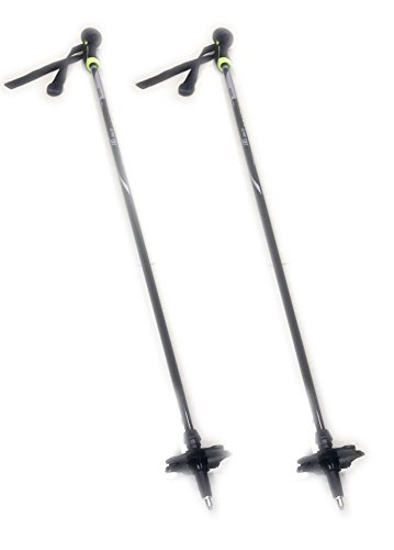 The Mountain Downhill Skis - WINGET Carbon Fiber Mountain Alpine Ski Poles Shaft Length 53.1