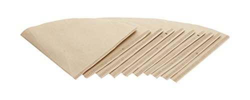 Cone Pointed - HIC Harold Import Co. 43784 Coffee Filters, Brown