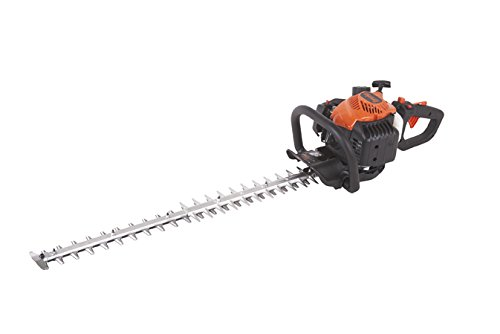 Tanaka TCH22ECP2 Gas Hedge Trimmer has 30-inch blade