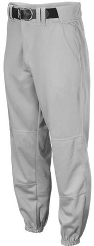 Rawlings Youth Traditional Fit YBP350 Baseball Pant, Blue Grey, Youth Large